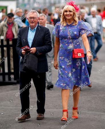 RTE's Sean O'Rourke and Miriam O'Callaghan arrive