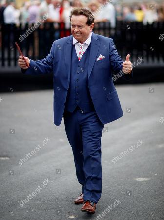 RTE's Marty Morrissey arrives