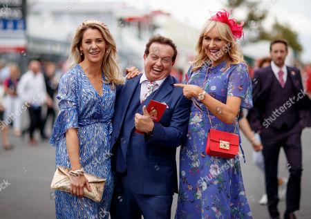RTE's Evanne Ni Chuilinn, Marty Morrissey and Miriam O'Callaghan arrive