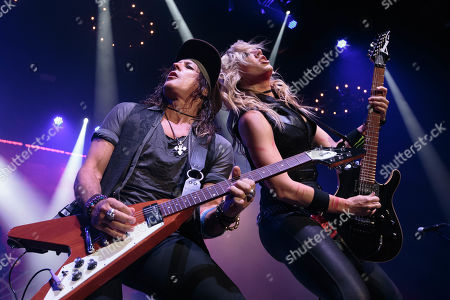 Ryan Roxie and Nita Strauss