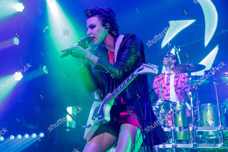 Lzzy Hale and Arejay Hale - Halestorm