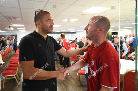 Stock Picture of Stan Collymore during the EFL season launch.
