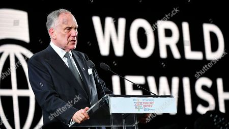 Ronald Lauder, President of the World Jewish Congress, delivers a speech during the opening ceremony of the European Maccabi Games in Budapest, Hungary, 30 July 2019. The European Maccabi Games is the largest Jewish community event in Europe, therefore, there will be many cultural and community programs during the 10 days from 29 July until 07 August. Some 2300 athletes will compete from 42 countries in 24 different sports.