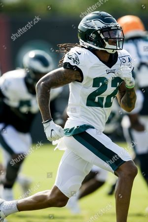 Philadelphia Eagles defensive back Orlando Scandrick during practice at the NFL football team's training camp in Philadelphia