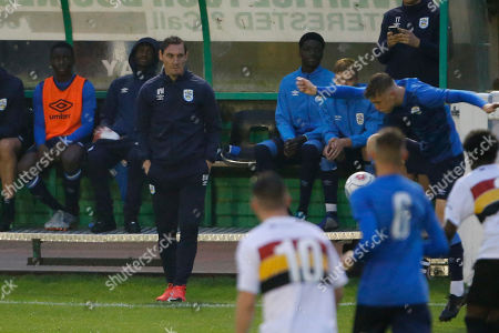 Dean Whitehead Manager of  Huddersfield Town U19 during the Pre-Season Friendly match between Bradford Park Avenue and Huddersfield Town U19 at Horsfall Stadium, Bradford