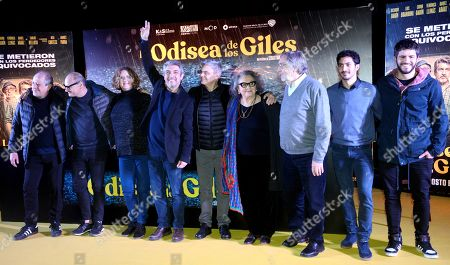 Editorial image of Ricardo Darin presents his latest film 'La odisea de los giles' in Buenos Aires, Argentina - 30 Jul 2019