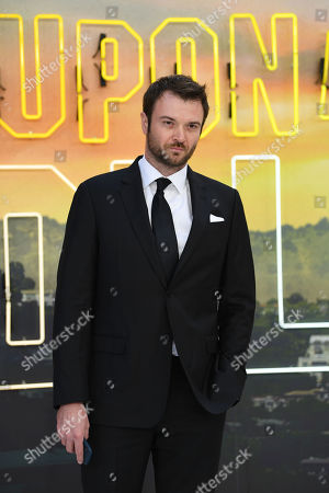 Russian-born US actor/cast member Costa Ronin attends the UK premiere of 'Once Upon a Time In... Hollywood' in London, Britain, 30 July 2019. The movie is released in British cinemas on 14 August.