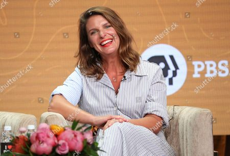 """Chef/host Vivian Howard participates in PBS's """"No Passport Required"""" and """"South By Somewhere"""" panel at the Television Critics Association Summer Press Tour, in Beverly Hills, Calif"""