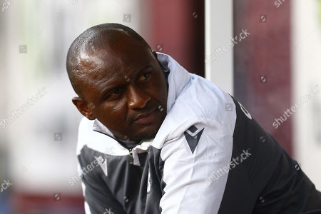 Stock Image of Patrick Vieira, head coach of Nice