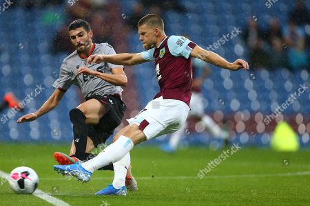 Johann Berg Gudmundsson of Burnley scores his sides fourth goal