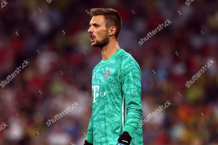 Sven Ulreich of Bayern Munich during FC Bayern Munich vs Fenerbahce, Audi Cup Football at the Allianz Arena on 30th July 2019