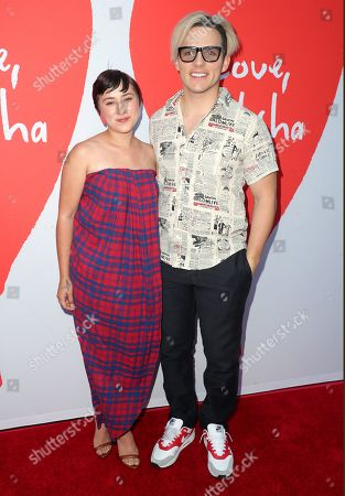 Stock Image of Zelda Williams and Anthony Sneed