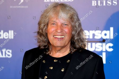 Jose Merce smiles after being awarded the 'Diamond Album' Award for a lifelong music career prior to his concert at the Spanish Royal Theater in Madrid, Spain, 30 July 2019.