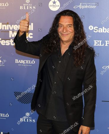 Stock Picture of Jose Fernandez Torres aka Tomatito gestures prior to his concert with Spanish singer Jose Merce (not pictured) at the Spanish Royal Theater in Madrid, Spain, 30 July 2019.