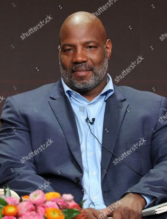 """Journalist Jelani Cobb participates in PBS's """"McCarthy"""" panel at the Television Critics Association Summer Press Tour, in Beverly Hills, Calif"""