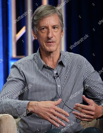 """Stock Picture of Andy Borowitz participates in PBS's """"Retro Report"""" panel at the Television Critics Association Summer Press Tour, in Beverly Hills, Calif"""
