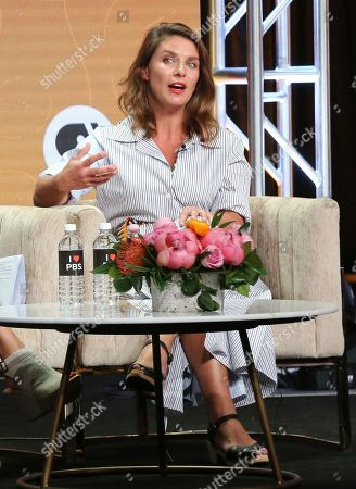 """Stock Photo of Chef/host Vivian Howard participates in PBS's """"No Passport Required"""" and """"South By Somewhere"""" panel at the Television Critics Association Summer Press Tour, in Beverly Hills, Calif"""