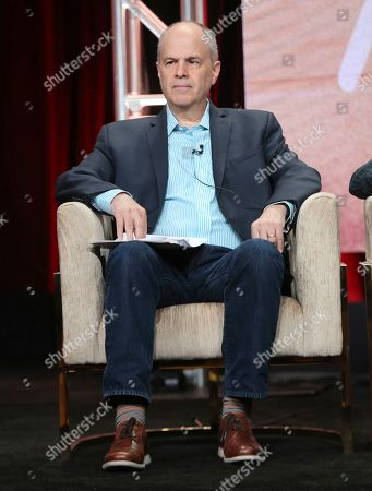 """Michael Kantor participates in PBS's """"Raul Julia: The World's a Stage"""" panel at the Television Critics Association Summer Press Tour, in Beverly Hills, Calif"""