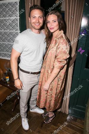Matt Di Angelo and Samantha Womack (Rachel Watson)