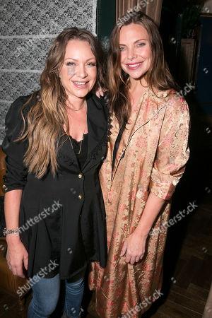 Rita Simons and Samantha Womack (Rachel Watson)