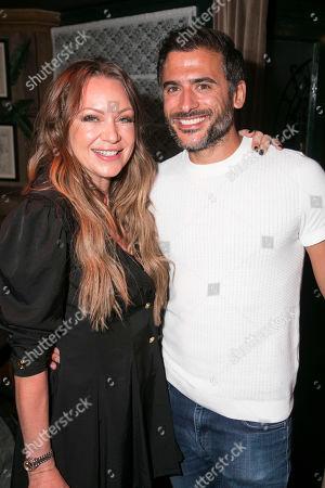 Rita Simons and Marc Elliott (Dr Kamal Abdic)