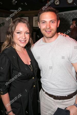 Rita Simons and Matt Di Angelo