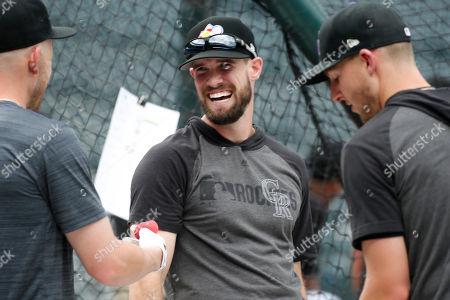 Editorial picture of Dodgers Rockies Baseball, Denver, USA - 30 Jul 2019