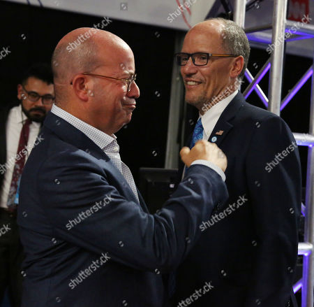 Jeff Zucker and Tom Perez