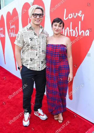 Anthony Sneed and Zelda Williams