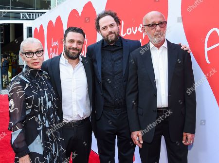 Irina Korina, Garret Price, Drake Doremus and Viktor Yelchin