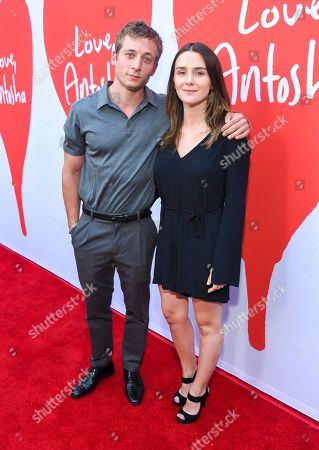 Stock Image of Jeremy Allen White and Addison Timlin