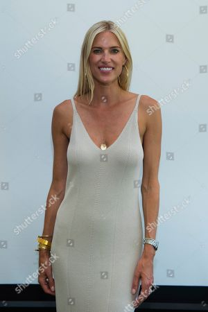Kristen Taekman attends Hot in The Hamptons, hosted by Kristen Taekman and Flaviana Matata, at Thomas Halsey Homestead, in Southampton, NY