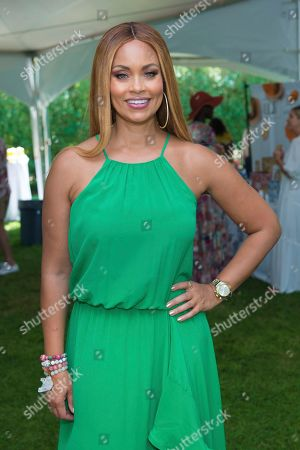 Gizelle Bryant attends Hot in The Hamptons, hosted by Kristen Taekman and Flaviana Matata, at Thomas Halsey Homestead, in Southampton, NY