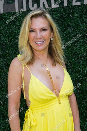 Ramona Singer attends Hot in The Hamptons, hosted by Kristen Taekman and Flaviana Matata, at Thomas Halsey Homestead, in Southampton, NY