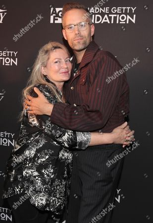 Ariadne Getty and Justin Tranter