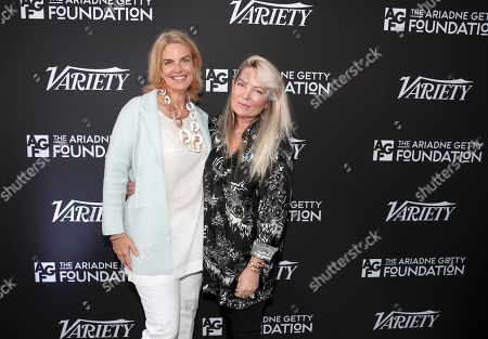 Sarah Kate Ellis and Ariadne Getty