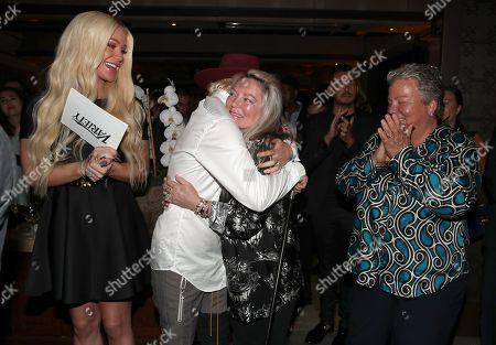 Gigi Gorgeous, Sarah Kate Ellis, Ariadne Getty and Lorri Jean