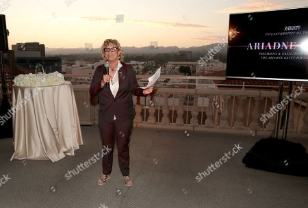 Editorial picture of Variety's Philanthropist of the Year Dinner, Inside, Los Angeles, USA - 30 Jul 2019