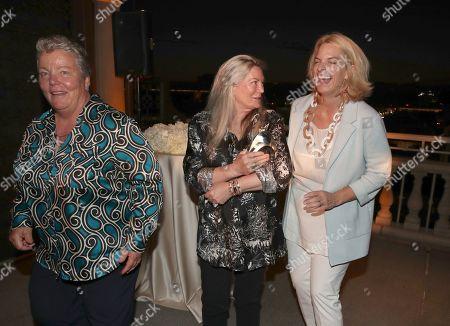 Lorri Jean, Ariadne Getty and Sarah Kate Ellis