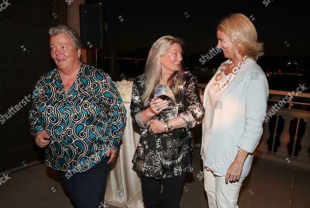 Stock Picture of Lorri Jean, Ariadne Getty and Sarah Kate Ellis