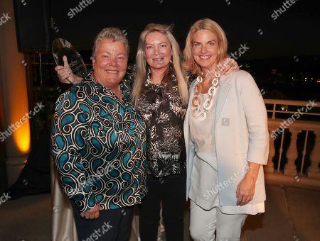 Stock Photo of Lorri Jean, Ariadne Getty and Sarah Kate Ellis