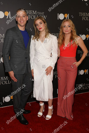 Editorial image of 'Them That Follow' film premiere, Arrivals, Landmark Cinema, Los Angeles, USA - 30 Jul 2019