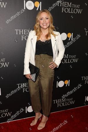 Editorial photo of 'Them That Follow' film premiere, Arrivals, Landmark Cinema, Los Angeles, USA - 30 Jul 2019