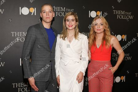 Dan Madison Savage, Alice Englert and Britt Poulton