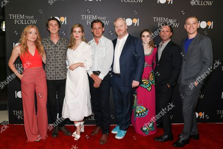 Britt Poulton, Thomas Mann, Alice Englert, Lewis Pullman, Jim Gaffigan, Kaitlyn Dever, Walton Goggins and Dan Madison Savage