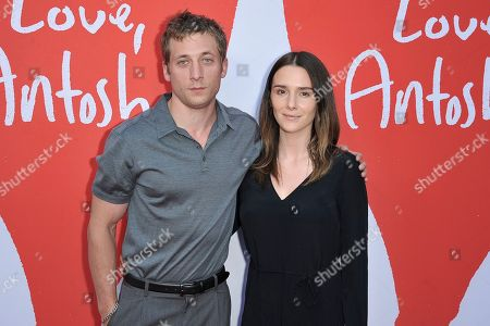 """Stock Picture of Jeremy Allen White, Addison Timlin. Jeremy Allen White, left, and Addison Timlin attend the LA premiere of """"Love, Antosha"""" at ArcLight Cinemas - Hollywood, in Los Angeles"""