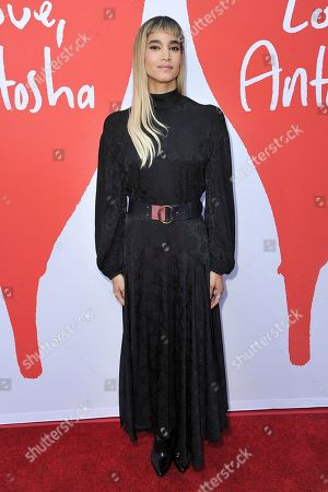 """Sofia Boutella attends the LA premiere of """"Love, Antosha"""" at ArcLight Cinemas - Hollywood, in Los Angeles"""