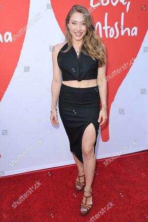 "Alexandra Vino attends the LA premiere of ""Love, Antosha"" at ArcLight Cinemas - Hollywood, in Los Angeles"