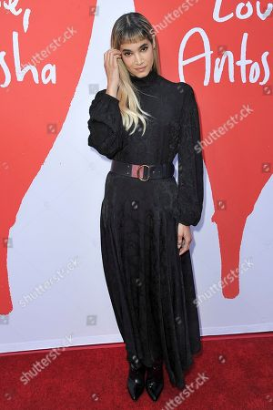 """Sofia Boutella attends the LA premiere of """"Love, Antosha,"""" at ArcLight Cinemas - Hollywood, in Los Angeles"""