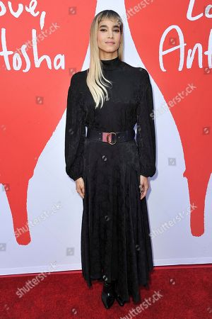 """Stock Image of Sofia Boutella attends the LA premiere of """"Love, Antosha,"""" at ArcLight Cinemas - Hollywood, in Los Angeles"""